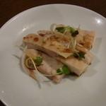 レストラン信天翁 - 鶏の白蒸