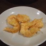 レストラン信天翁 - 海老の天ぷら