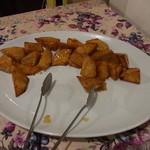 レストラン信天翁 - デザートコーナーの大学芋