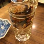 ふぐ料理 与太呂 - ヒレ酒〜(≧∇≦)❤︎