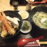 うどん市 - フーサワ100周年記念イベントメニュー700円(2015.3.8)