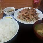 食堂 合縁 - 料理写真:スタミナ定食