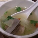京華閣 - ・排骨冬瓜汤 1080円 スペアリブ冬瓜スープ