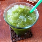 イシガキ ユーグレナガーデン - 黒糖青汁 300円
