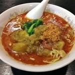 35739620 - カレー担々麺(激辛)790円
