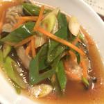 太郎 - 牡蠣のピリ辛炒め