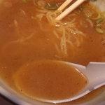 らーめん小江戸 - スープは絶妙な配分がWスープ!!!