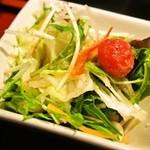 ライオン飯店 - マーボー豆腐ランチ(サラダ)