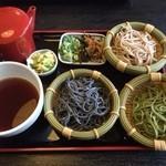 七福 - 料理写真:そば湯が最初から付いてきます。