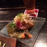 神田基地 - ミミガーの前菜