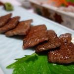 寿司.割烹 海徳 - 牛網焼き