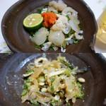寿司.割烹 海徳 - 渾然一体に混ぜ合わせ食す