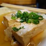 堤亭 - おでんの豆腐も名物だった