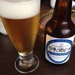 35747070 - 伊豆の地ビール、海鮮丼に合い、美味しいです!!