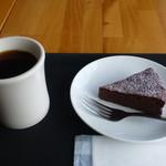 MUSEA - ゴトーショコラ@380と、エチオピアコーヒー@350