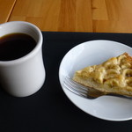 MUSEA - バナナタルトとブレンドコーヒー