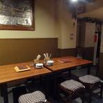 イタリアン居酒屋 にんたま屋台 - 店内(2015年3月来店)
