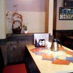 中華居酒屋 彩味園 - 二階のすみっこ。
