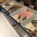 三井ガーデンホテル - 白ウィンナ ハム 魚