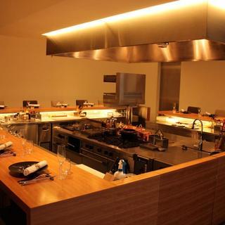 五感を刺激するオープンキッチン