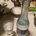 35752314 - 冷酒で乾杯(菊正宗)