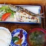 男鹿海鮮料理 三代目ほたる - マル特ほたる定食(1500円)アップその2