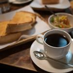 珈琲 まるも - 料理写真:モーニングセット