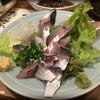 はなれ味楽 - 料理写真:アジ刺し980円