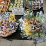 35759285 - めんこい野菜という野菜を見立てた和菓子!