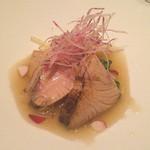 35760224 - ディナー・魚料理(ブリ)