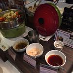 三井ガーデンホテル - 温野菜とスープカレー