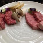 みょうが屋 - 宮崎牛と豊後牛食べ比べ