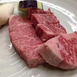 みょうが屋 - 豊後牛 旨味は宮崎牛に劣るが、脂がきれいでうまい