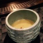 鉄板焼 季流 - なんのスープだっけ?