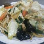 華苑 - 野菜炒め