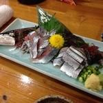和食かたおか - 秋刀魚の刺身 シーズンにはたまりません