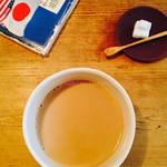 お茶とお菓子 横尾 - カフェオレ
