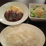35767643 - 牛ロースステーキ(980円)