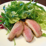 JIP - お通し(鴨燻製サラダ)