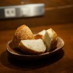 ガレオーネ - 自家製のパン