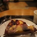 スターバックスコーヒー - フルーツクランプルケーキ 453円