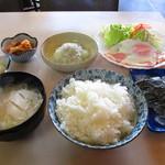 アイリス - 料理写真:朝定食