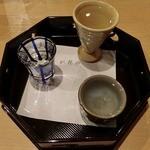 にしむら - 利酒セット600円の日本酒