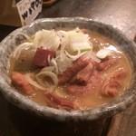 石松 - もつ煮込み 500円