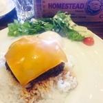 カフェダイナー コナ - ハンバーグのロコモコ