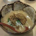 """35774800 - """"北海道味噌味噌漬け炙りチャーシュー麺""""です。"""