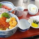 3578614 - 「ウニイクラ丼」@1950円