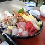 3578616 - 「海鮮丼定食」@2100円