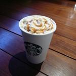 スターバックスコーヒー - コーヒー&クリームラテ トールサイズ 496円