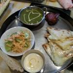 ジャハンギール - チーズナンに変更